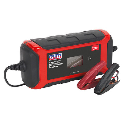 Sealey SMC14 Compact 12v Battery Charger 8A