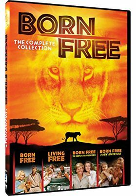 Born Free-Complete Collection (Dvd) (4 Disc)