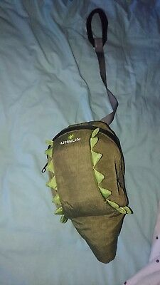 Little life backpack safety reins crocodile