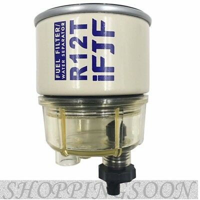 For Racor Fuel Filter Replacement Element 10 Micron R12T