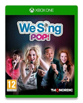 We Sing Pop Xbox One NEUF SOUS BLISTER