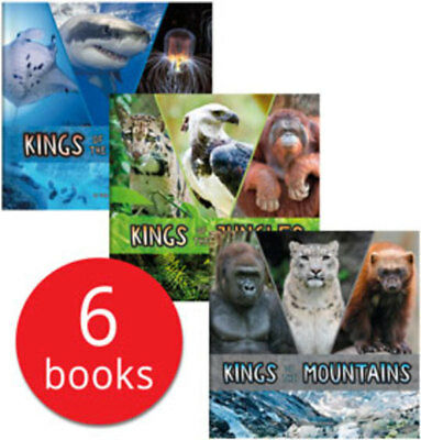 Animal Rulers Collection - 6 Books