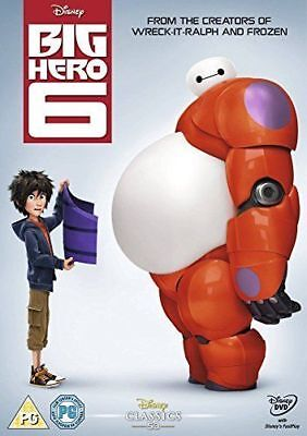 Big Hero 6 Disney Dvd - New Sealed Original Uk Release
