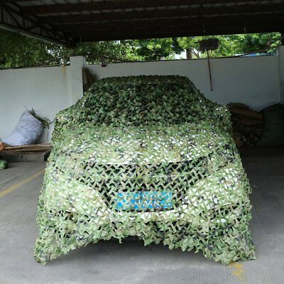 Camouflage Net Army Military Camo  Car Covering Tent Hunting Blinds Netting O647