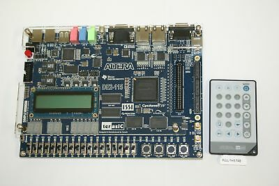 ALTERA DE2-115 FPGA Development Board with Remote Controller