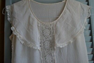 RARE & LOVELY ANTIQUE FLAPPER ERA DRESS SALVAGE fr DOLL CLOTHES FRENCH AGEWEAR