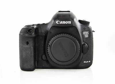 Canon EOS 5D Mark III 22.3MP Digital SLR Camera - Black (Body Only) 35k Shutter
