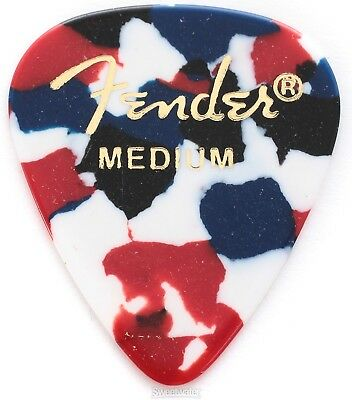 Fender 351 Shape Classic Celluloid Picks - Medium