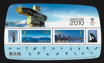 Canada - S/S - Overprint VANCOUVER 2010 - Olympic Winter Games #2366c - MNH