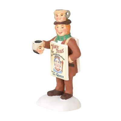 Dept 56 Villages Dickens Village Toby Street Vendor 6000594 NIB