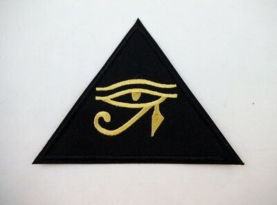 Ancient Egyptian Eye of Horus Iron On Patch Symbol Protection Mythology