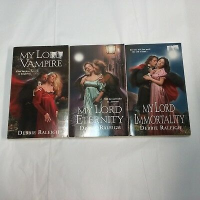 Debbie Deborah Raleigh Alexandra Ivy Lot of 3 SC Books Immortal Rogues 1sts