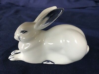 Royal Doulton Blue Flambe Seated Hare. Centenary Edition In Excellent Condition.