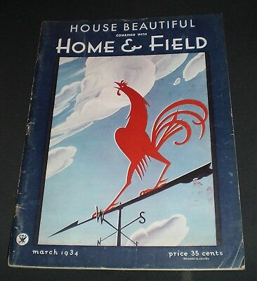 House Beautiful/Home & Field Magazine – March 1934