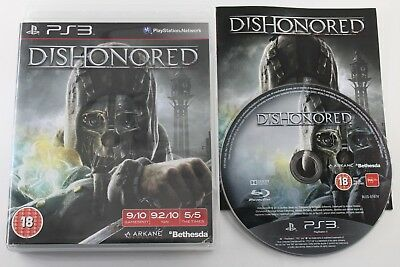 Play Station 3 Ps3 Dishonored Completo Pal Uk