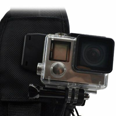 Portable 360 Degree Rotary Backpack Hat Clip Clamp Mount for Gopro Hero Camera~P