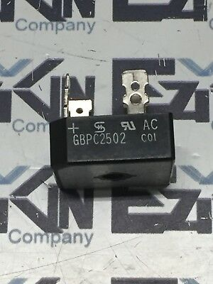 GBPC2502 - Glass Passivated Single-Phase Bridge Rectifier - Lot of 5