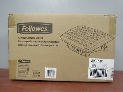 Fellowes 8030901 Climate Control Foot Rest CRC80309 [25E]