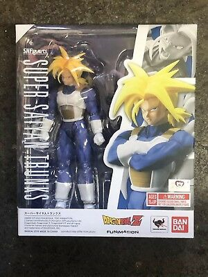New Bandai Tamashii S.H Figuarts Dragonball Z Super Saiyan Trunks ~NEW