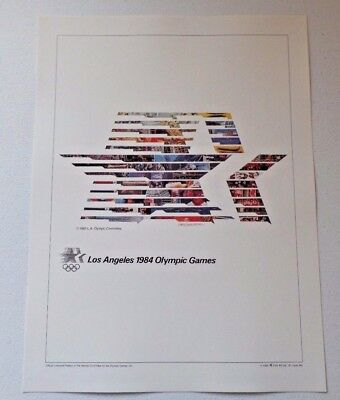 1984 Official Olympic Xxiii Los Angeles Cal Souvenir Program Available In Various Designs And Specifications For Your Selection Sports Mem, Cards & Fan Shop