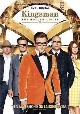 Kingsman: The Golden Circle [DVD] BRAND NEW, Action, Spy, Comedy *FREE SHIPPING!