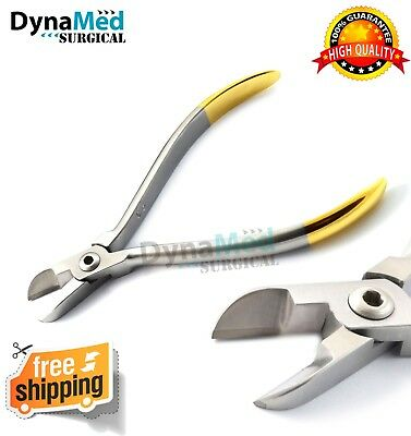 TC  Hard Wire Pin Cutter Ligature Plier Orthodontic Dental Instruments