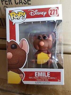 Funko Pop! Disney Series 10 Emile #271 NIB Movie Ratatuille Remy's Brother NEW