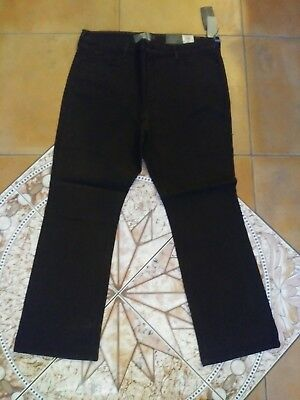 NWT NYDJ Not Your Daughters Jeans GANACHE Embroidered Pocket Bootcut Size 18W