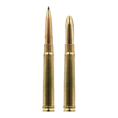 TWO #.375 H/&H MAG Bullet Pens in Brass Casings 2 Fisher Space Pens