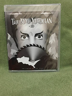 Free*Postage New The Mad Magician 3D /Three stooges Blu Ray Vincent Price E-U Sh