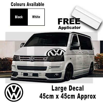 Volkswagen Vw Transporter T5 Rear Front Bonnet Side Logo Graphics Stickers