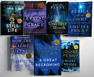 Chief Inspector Armand Gamache Louise Penny Lot 7 Mixed: 1 2 3 7 9 12 13