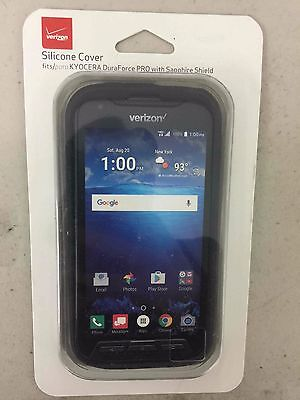 buy popular 7afd7 19ff0 VERIZON OEM MATTE Silicone Case Cover for Kyocera DuraForce PRO - NEW !!!