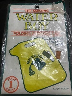 NIP! Vintage The Amazing Water Boy Folding Watering Can, 1 gallon. Style #Z111