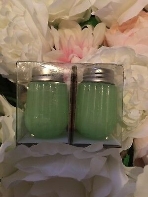 Glass Salt And Pepper Set - Green - Hearth & Hand™ with Magnolia