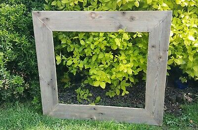 A3 Picture Canvas Photo Frame Rustic Reclaimed Wood Chunky Wedding Gift Shabby
