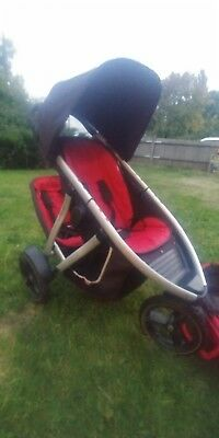 Phil And Teds Vibe Double Baby Pushchair Jogger