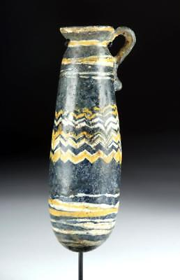 Ancient Greek Glass Core-Formed Alabastron