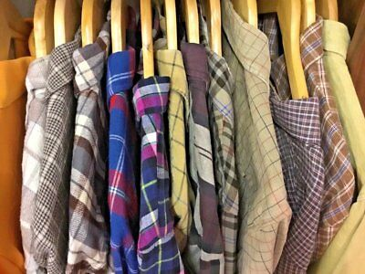 Men's Vintage Clothing Wholesale Job Lot 10KG