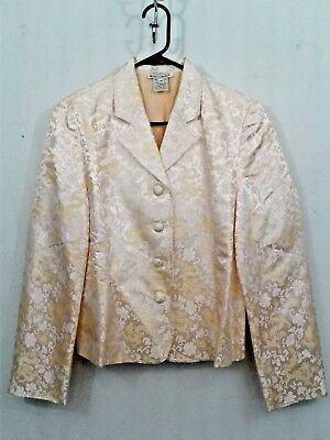 Dreamsacks Womens Chinese Dragon Themed Rayon/Silk Button Dress Suit Jacket Med