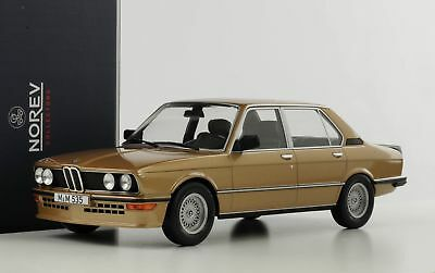 1980 BMW 535i M535i E12 gold metallic 1:18 Norev 183268