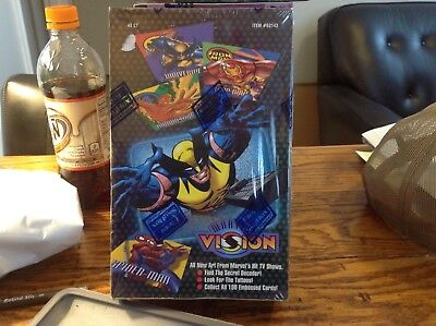 Marvel Vision Trading Cards Set 48 Ct