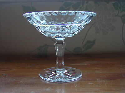 Galway Crystal Ireland Cut Glass Tazza/Compote
