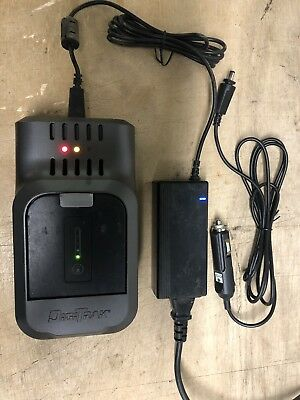 Used Digitrak F2 F5 Falcon 2,5 Battery Charger DC Adapter & One used batteries