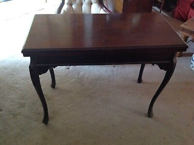 Folding Antique Card / Side Table.