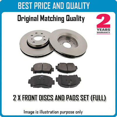 Front Brke Discs And Pads For Vw Oem Quality 560848