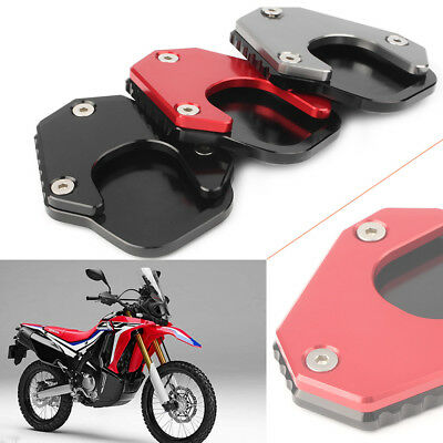 Foot Side Stand Kickstand Pad For HONDA CRF 250 RALLY CRF 250L 2017 2018