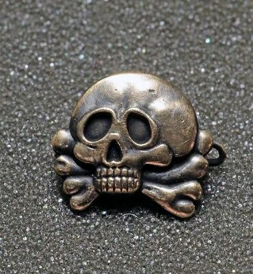German Freikorps 1919 - Skull Badge - Traditional badge of the tank drivers WW1