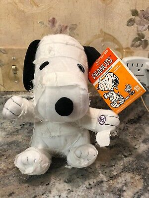 """Peanuts GEMMY Spooky Snoopy Animated Musical Mummy w/Tags Halloween 9"""""""