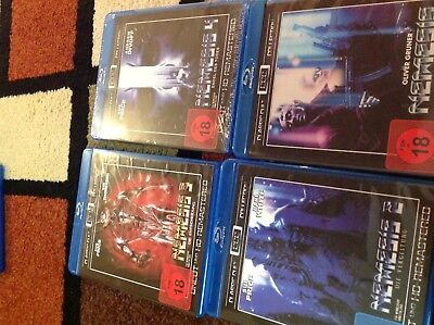Nemesis Box Set Collection [All 4 Films] (Blu-Ray Region-Free)~~~~~NEW & SEALED